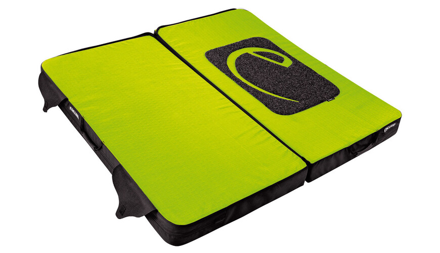 Edelrid Mantle II crash pad groen/zwart